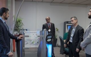 Photo: RTA tests Route 2020 fare collection gates, central system software