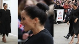 Photo: Duchess of Sussex visits London university, debuting new look