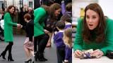 Photo: Duchess of Cambridge visits schools in support of children's mental health