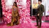 "Photo: Priyanka Chopra and Nick Jonas at the premiere ""Isn't It Romantic"""