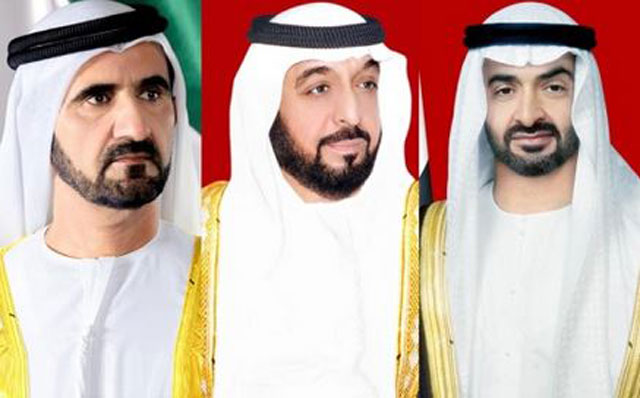 Photo: UAE leaders congratulate Lithuanian President on Independence Day