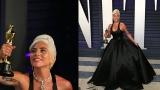 Photo: Lady Gaga wore 128 carat diamond to Oscars