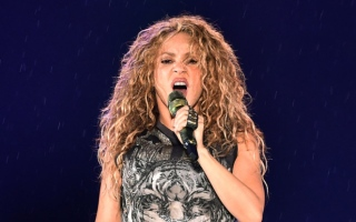 Photo: Shakira hits the studio and confirms new music is coming