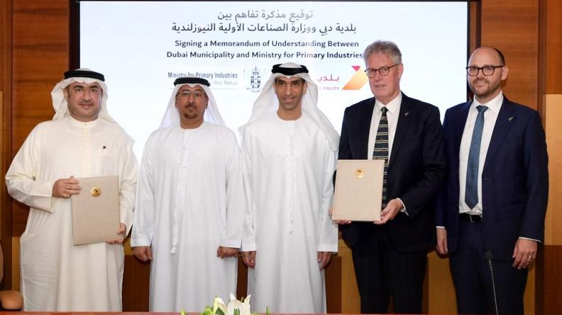 Dubai Municipality, New Zealand Ministry sign cooperation ...