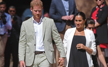 Photo: Duchess Meghan pays tribute to Prince Harry