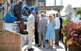 Photo: Prince Charles and Duchess Camilla on Royal Tour of the Caribbean