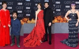 Photo: Souvenirs and secrets as 'Game of Thrones' cast walk last red carpet