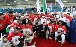 Photo: UAE qualifies for Ice Hockey World Cup