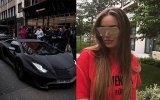 Photo: Russian Instagram model covers Lamborghini Aventador in 2m crystals