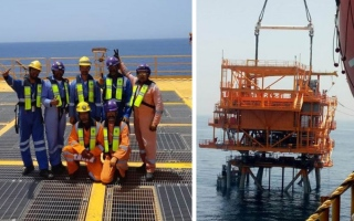 Photo: Drydocks World completes 5th project for Arabian Gulf oil and gas fields