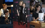 Photo: Kristen Stewart at JT Leroy Premiere; Amal Clooney in NY; Justin Bieber and Hailey Baldwin...
