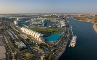 Photo: Dh6.2bn in projects under construction on Yas Island