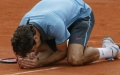 Photo: 'In no-man's land': Federer taking 'baby steps' on clay return