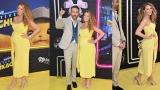 """Photo: Blake Lively debuts baby bump at Ryan Reynolds' """"Pokemon Detective Pikachu"""" premiere"""