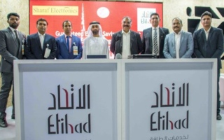 Photo: Etihad ESCO signs contracts to implement lighting retrofit project