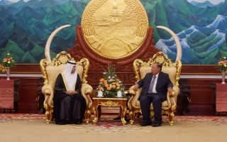 Photo: President of Laos receives credentials of new UAE Ambassador