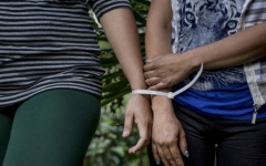 Photo: El Salvador sentences 7 in 'black widows' insurance killings