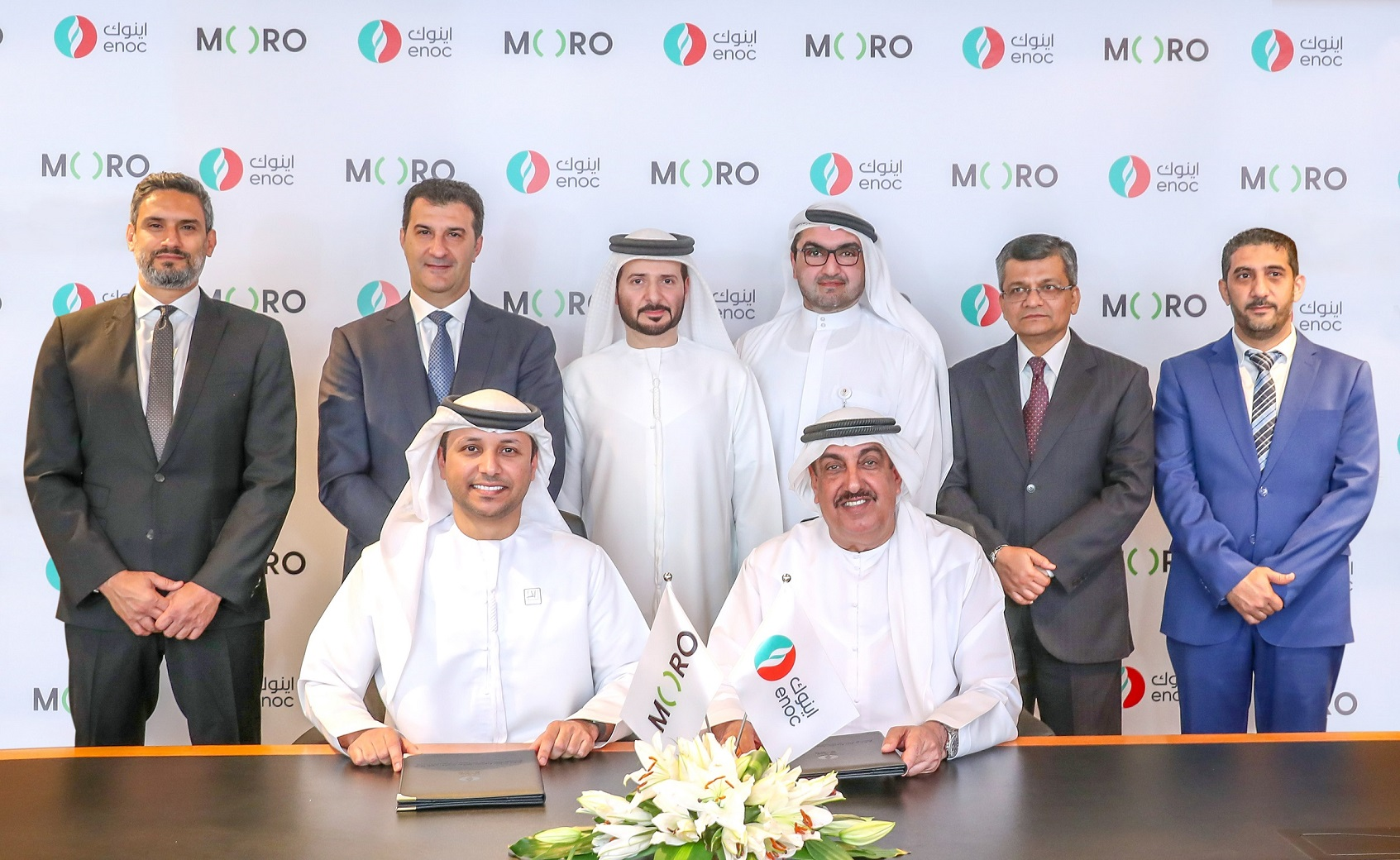 ENOC partners with Moro to drive the group's digital transformation