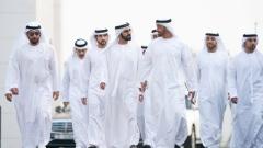 Photo: Mohammed bin Rashid meets Mohamed bin Zayed