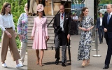 Photo: Duke and Duchess of Cambridge attend the Royal Garden Party