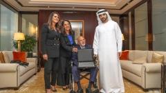 Photo: Sheikh Hamdan presents Landmark Group with first Sports Imprint Award