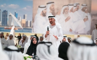 Photo: Mohamed bin Zayed attends Abu Dhabi Government's Ramadan evening