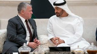 Photo: Mohamed bin Zayed, King of Jordan review regional developments