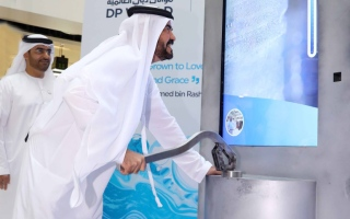 Photo: DP World contributes 17,400 litres of water to 'Well of Hope' initiative