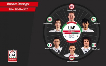 Photo: UAE Team Emirates to take part in Hammer Series in Norway