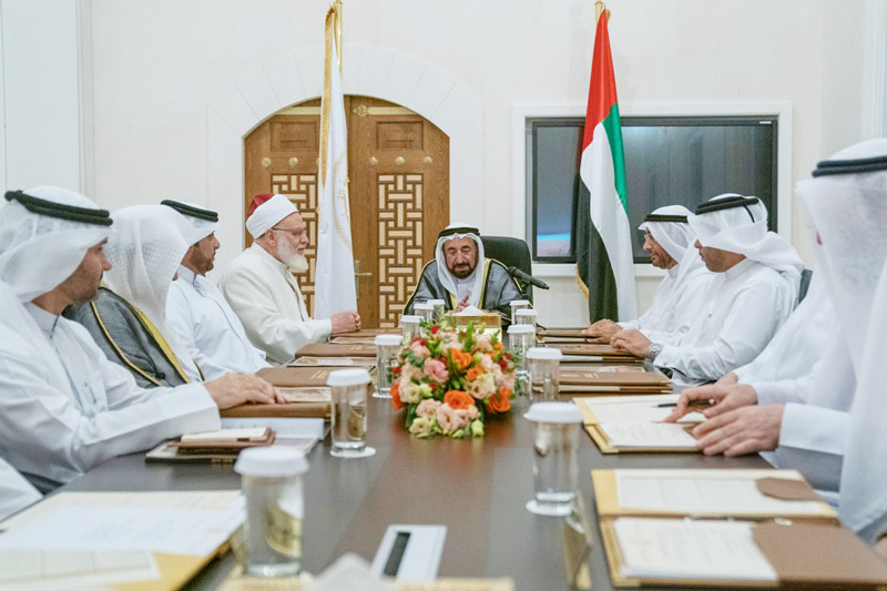 Photo: Sharjah Ruler chairs Al Qasimia University's Board of Trustees