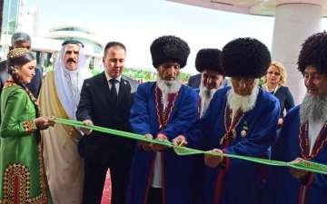 Photo: UAE ambassador attends opening of 10th Turkmenistan Gas Congress