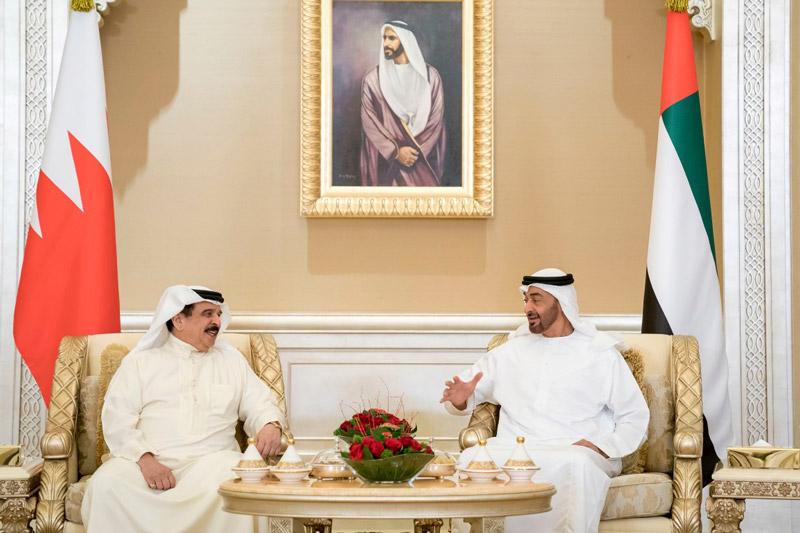 Photo: Mohamed bin Zayed, King of Bahrain deliberate regional developments
