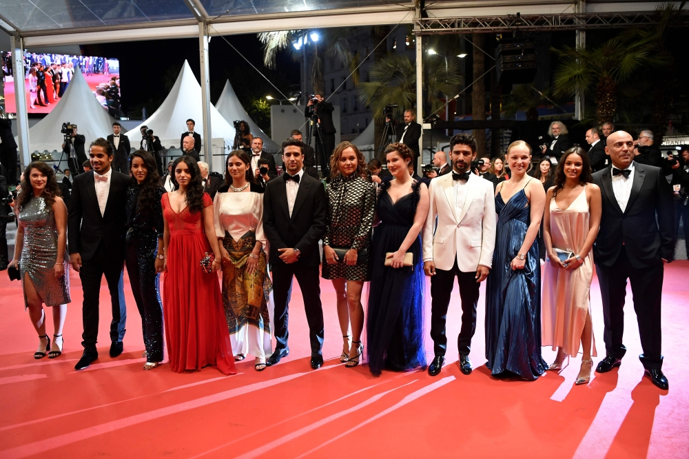 Photo: Cannes red carpet: Jasmine Tookes, Hafsia Herzi, Ophelie Bau...