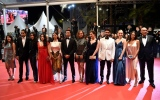 Photo: Cannes red carpet: Jasmine Tookes, Hafsia Herzi, Ophelie Bau...