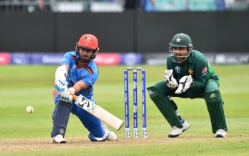 Photo: Hashmatullah shines as Afghanistan shock Pakistan