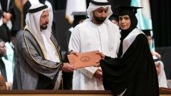 Photo: Sharjah Ruler attends graduation ceremony of Al Qasimia University