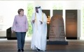 Photo: Mohamed bin Zayed, German Chancellor discuss bilateral relations