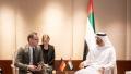Photo: Mohamed bin Zayed meets Germany's FM