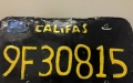 Photo: Badly-made fake license plate leads to arrest