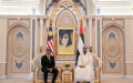 Photo: Mohamed bin Zayed, King of Malaysia discuss cooperation