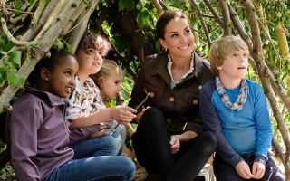 Photo: Duchess Catherine launches competition with Blue Peter