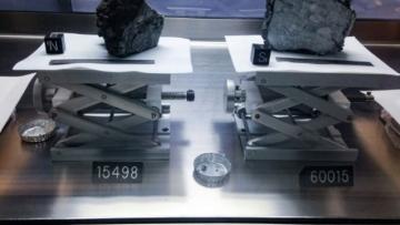 Photo: Apollo moon rocks help transform understanding of the universe