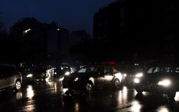 Photo: Massive blackout hits tens of millions in South America