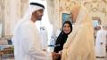 Photo: Mohamed bin Zayed receives Speaker of Ethiopian House of Federation