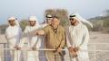 Photo: Hamdan bin Zayed visits 'Sir Bani Yas Church and Monastery
