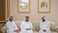 Photo: Mohamed bin Zayed, Sheikhs offer condolences on death of Sheikh Mansour bin Ahmed Ali Al Thani