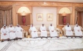 Photo: Sheikh Hamdan receives mourners on death of Mansour bin Ahmed