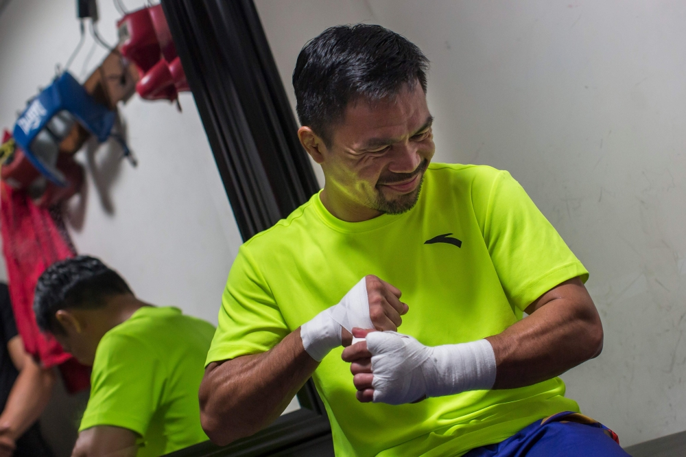 Riled-up Pacquiao taps 'aggressive' streak for Thurman