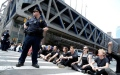 Photo: Climate change protesters arrested outside New York Times