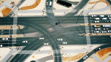 Photo: Al Aflaj, Al Qasr, Rotana and Al Ahlia intersections in Al Ain opened